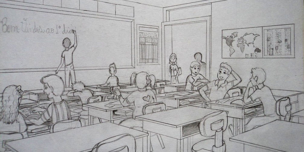 Classroom Design Sketch ~ Design thinking designing higher ed