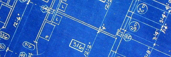photo of blueprint